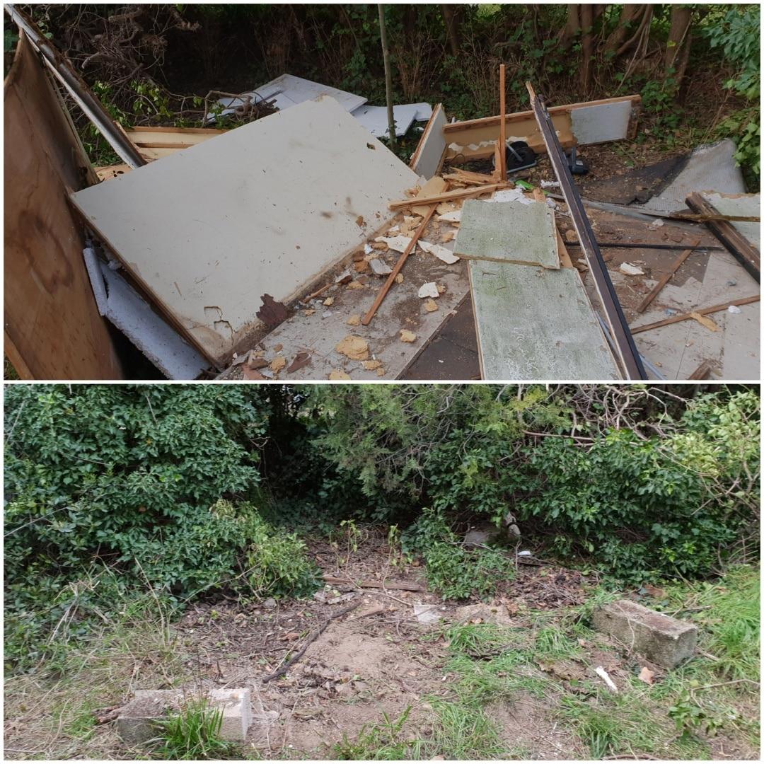 Débarrassage jardin, HEXA DEBARRAS vide tous l'extérieur de la maison, y compris une cabane
